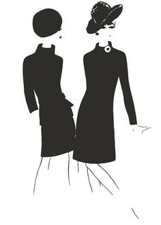 The prototype for the black dress was produced by Mademoiselle Chanel in the mid-1920s. It has been a staple since.