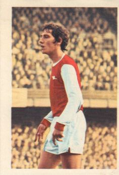 010 - Sammy Nelson (Arsenal) - Had a long spell of seniority last season at full-back. An Irish born player he turned to the paid ranks with Arsenal in April 1966 and won his first full caps during 1969-70 season. Now has 13 full appearances for Ireland. Ht. 5ft. 11in. Wt. 11.11.
