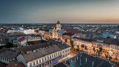 Detectiv Particular Arad City Break, Capital City, Romania, Places To See, Paris Skyline, Palace, Dubai, Transportation, Sunset