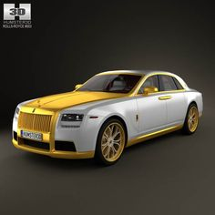 Rolls Royce Ghost Diva Fenice Milano 2012 with HQ Interior 3d model from humster3d.com. Price: $125