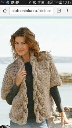 Knit Vest Pattern, Drops Design, Chrochet, Casual Jeans, Pullover, Crochet Patterns, Knitting, Coat, Clothes