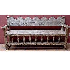 Mexican antique bench