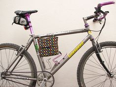 A huge list of bag tutorials--too many to count! This cute little bike frame lunch bag caught my eye.