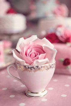 ༺✿ I'm a Girℓყ Girℓ! ✿༻ Pink Tea Time