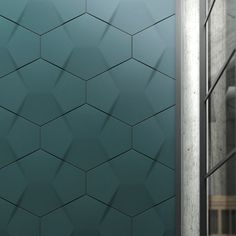 Turkish designer Yigit Ozer has created a range of three dimensional wall tiles for ceramic company Kutahya Seramik.