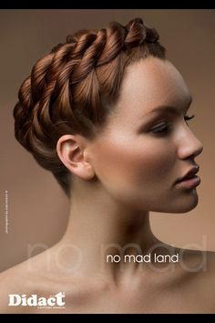 Coiffure mariage couronne tresse didact hair