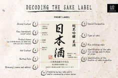 Saké - Front Label