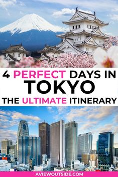 How to spend 4 perfect days in Tokyo - I spent many years living in Tokyo and loved acting as a tour guide for loved ones who came to visit. In this post you'll find hidden gems, lots of amazing spots in Tokyo to explore plus how to get there, places to eat and drink and where to stay.  Things to do in Tokyo | Tokyo travel #tokyotravel #tokyoitinerary #tokyofood #tokyobudget  #tokyo