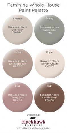 Feminine whole house Benjamin Moore paint pallette Feminine ganze Haus Benjamin Moore Farbpalette Kitchen Paint Colors, Paint Colors For Home, Taupe Paint Colors, Warm Kitchen Colors, Tan Kitchen, Interior Paint Colors For Living Room, Office Paint Colors, Cream Kitchen Paint Ideas, Kitchen Ideas