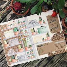 "51 Likes, 3 Comments - Bullet journal inspiration... (@bullet_journaling_it_is) on Instagram: ""Love the little plant #doodles by @olive_writes #bulletjournalitis #bulletjournal #calligraphy…"""