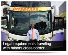 Legal requirements traveling with minors cross border | Arrive Alive South Africa