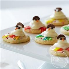 Keep the cookie fun going after Christmas with this Snowman Meltaways recipe from Pillsbury® Baking