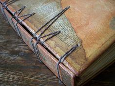 Morgan Le Fae's Trinkets: Book of books, secret belgian binding with a twist