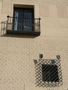 Esgrafiado in Segovia, Spain