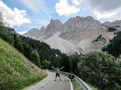 Bike touring in the Dolomites, Italy. Photo (c) Beth Puliti. www.bethpuliti.com