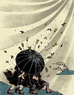 Endurance and Resilience by Yuko Shimizu (Hong Kong's Umbrella Revolution and Occupy Central 2014) *