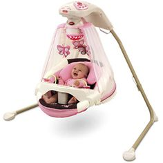 Fisher-Price - Papasan Cradle Swing, Mocha Butterfly (added to my walmart registry but in case I forget how to find it putting it here)
