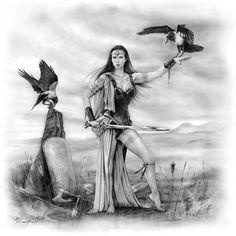 Corvidea Gods and Goddesses - PaganSpace.net