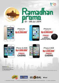 Oke Shop: iPhone Promo Ramadhan @OkeShop