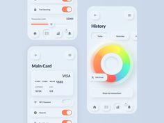 30 Cool Neumorphism UI Design Examples – Bashooka Like most design trends, Neumorphism is yet another beautiful approach to design user interfaces that look soft and easy on the eye. So in this post we've gathered 30 Cool Neumorphism UI Design Web Design, Game Design, Layout Design, Graphic Design, Design Trends, Flat Design, Web Layout, Iphone Interface, Dashboard Ui