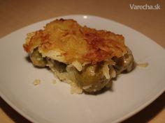 Zapečený ružičkový kel s chrumkavou zemiakovou krustou (fotorecept)