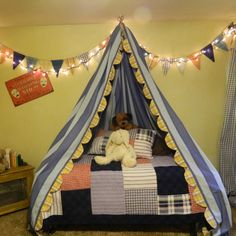 Another amazing Sharon Rollans creation- little kids dream tent bed- love it!!