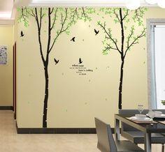 UfingoDecor XLarge Serie Verde Giardino Enorme Albero di Betulla Bianca e Gli Uccelli Che Volano Adesivi Murali, Camera da Letto Soggiorno Adesivi da Parete Removibili/Stickers Murali/Decorazione Murale, Set di 3 Fogli UfingoDecor http://www.amazon.it/dp/B00D6H0IGU/ref=cm_sw_r_pi_dp_BGOgub0GCF8DD