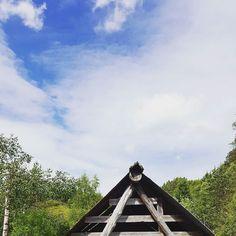 Memories  #summer #uthus #utno #skyporn #nature #norwegiansummer