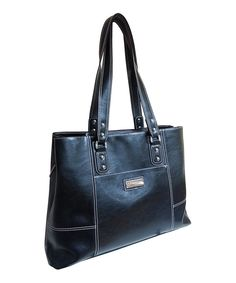 Look at this Kenneth Cole Triple Compartment 15'' Laptop Tote on #zulily today!