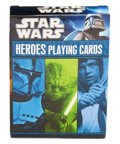 Look what I found on #zulily! Star Wars Heroes Playing Cards #zulilyfinds