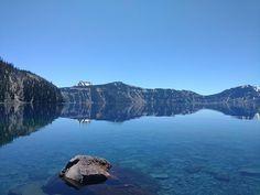 Crater Lake National Park. Oregon. [OC] [1440  1080]