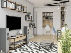 Salon styl Industrialny - zdjęcie od DwaCztery Studio - Salon - Styl Industrialny - DwaCztery Studio