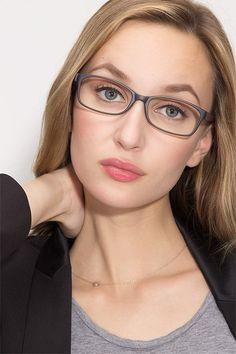 0c92d6eeaa Beads Matte Gray Plastic Eyeglass Frames for Women from EyeBuyDirect