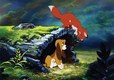 Fox and the Hound - This is one of those movies I used to watch all the time with my little brother - when he'd ask to sleep on my floor at night.