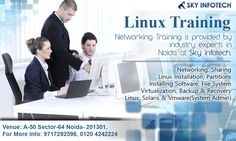 #LinuxTraining is provided by Industry experts in Noida at Sky Infotech.