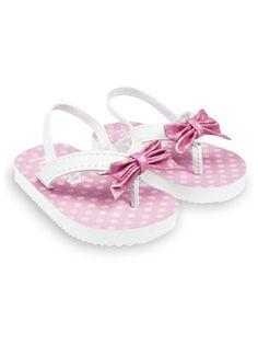 Pink Polka dot sandal
