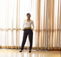 The Douglas Pants - Free Sewing Pattern - Mood Sewciety High Waisted Dress Pants, Skirt Pants, Shorts, Sewing Patterns Free, Free Sewing, Sewing Blogs, Sewing Crafts, Mood Designer Fabrics, Pants Tutorial