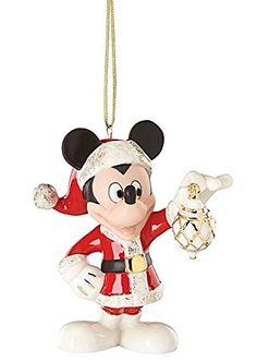 Lenox 2016 Decorate The Season with Mickey Ornament