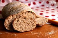Ritorno sui lievitati. Questa volta con un pane semi integrale a lievitazione naturale. Per il pane ci vogliono due soli ingredienti: acqua e farina. In alcuni casi si aggiungono anche latte e olio. Ed a seconda della qualità della farina, della quantità di acqua, del metodo di lavorazione, della forma e del tipo di cotturaRead more