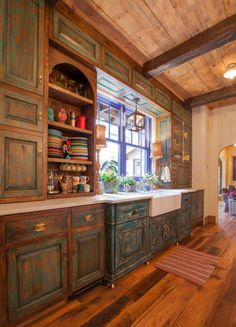 Key Residential | Rustic Kitchen