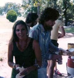 Steve and Cassie Gaines Family Pick Nick in Oklahoma 1977~