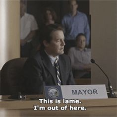 "ifc: "" Could the mayor of Portland be heading back north to Twin Peaks, Washington? """