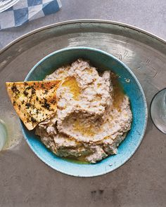 Roasted-Eggplant Dip with Greek Yogurt (next time I have an eggplant on hand)