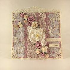 Heidis kortlagingsblogg: Blomster - bryllupskort