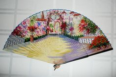 Antique Paper Fan
