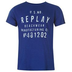 Replay | Replay Men's Beachwear T Shirt | Men's T Shirts