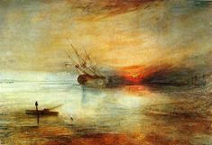 Fort Vimieux, 1831 by William Turner. Romanticism. marina. Private Collection