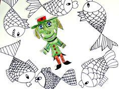 Tvoříme s dětmi  ☺: Ryby, rybičky Snoopy, Kids, Fictional Characters, Young Children, Boys, Children, Fantasy Characters, Boy Babies, Child
