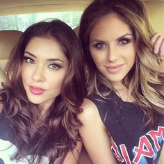double trouble w/ beautiful octagon goddesses Brittney Palmer & Arianny Celeste : if you love #MMA, you'll love the #UFC & #MixedMartialArts inspired fashion at CageCult: http://cagecult.com/mma