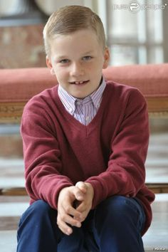 His Royal Highness Prince Gabriel of Belgium.  Prince Gabriel Baudouin Charles Marie, born 20 August 2003, is the first son and second child of King Phillipe of Belgium and Queen consort Mathilde of Belgium.